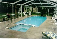 Newport Fiberglass Pool and Spa in Forest Hills, KY